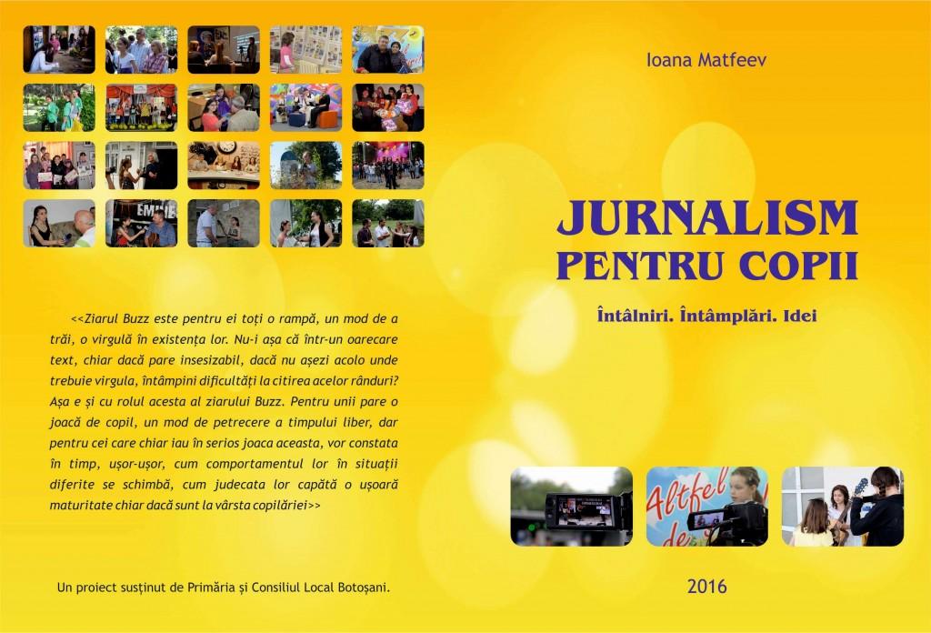 Jurnalism pentru copii - coperta