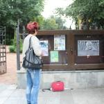 (Video) Vernisajul expoziței dedicate copilăriei, la vitrinele de lângă parc