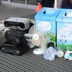 Peste o tonă de deșeuri electrice în prima etapă de campanie pentru susținerea Patrulelor de Reciclare