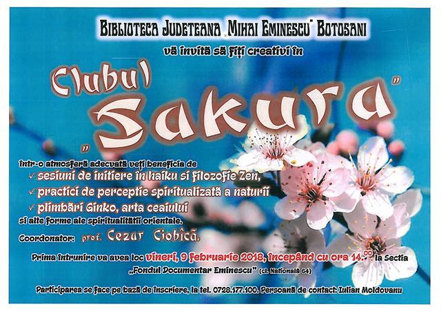 AFIS Clubul Sakura Fond Documentar