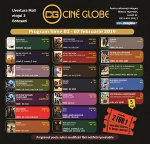 Program Cine Globe_Botosani