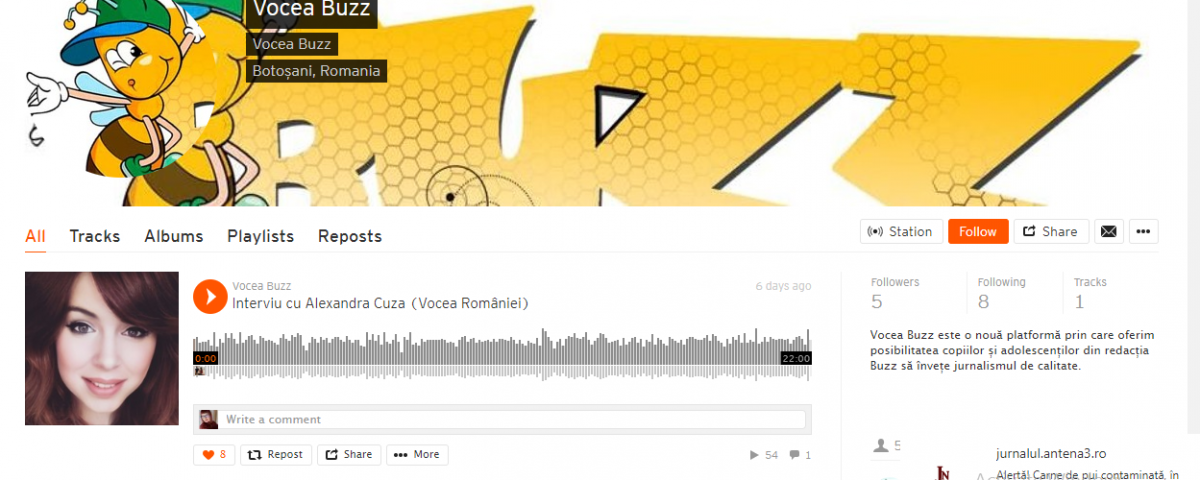 podcastvocea buzz