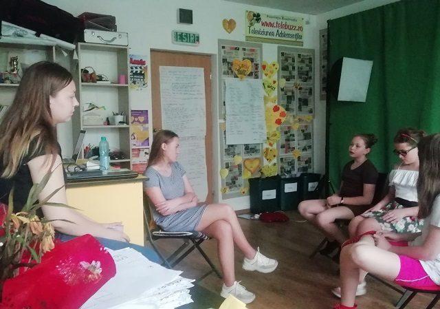 Ateliere estivale pentru reporterii Buzz