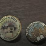 Insignă specială la Bibliotecă, dedicată celor 170 de ani de la nașterea lui Eminescu