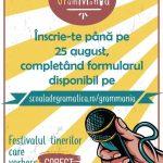 Primul festival de gramatică din România!
