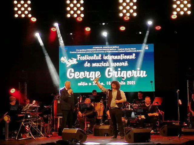 Trei seri de neuitat la Festivalul George Grigoriu. Trofeul a plecat în Italia!